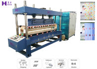 1200 PCS / H High Frequency Welding Machine 35KW For Plastic Window Curtain